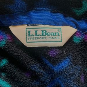 L.L. Bean Vintage Fleece Jacket size Small